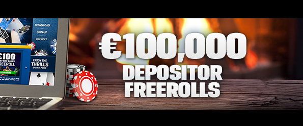 €100,000 Depositor Freeroll series