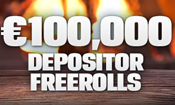 �100,000 Depositor Freeroll series
