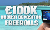 �100,000 August Depositor Freeroll