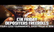 Friday Depositor Freeroll