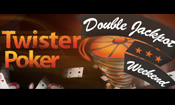 Twister Poker Double Jackpot
