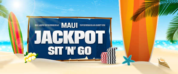 Jackpot sit and go - Maui