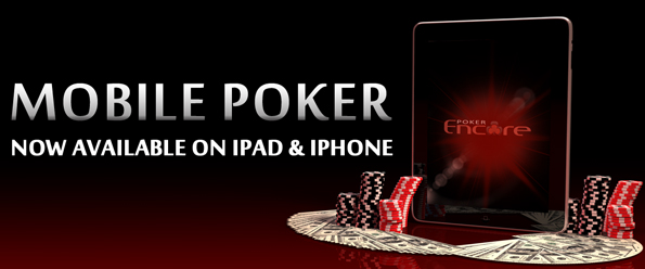 Mobile Poker on iPad, iPhone