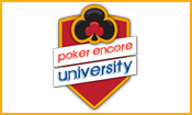 Poker Encore University